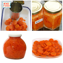 canned vegetable carrot whole sliced diced stick