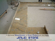Yellow Granite Countertops for Kitchen