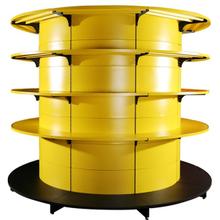全圆包立柱货架