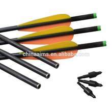 hot sell Bows and arrows ID6mm fiberglass arrows for Crossbow china factory