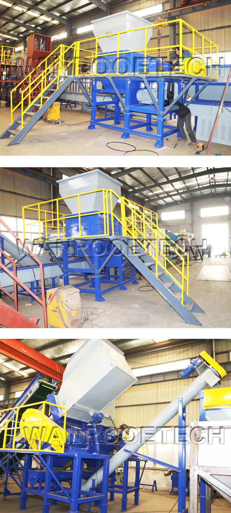 Four Shaft Shredder factory
