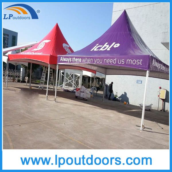 Outdoor High Peak Aluminum Frame White PVC Marquee Spring Top Tent for Event