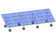 C Type Steel Ground Mounting System-landscape Panel