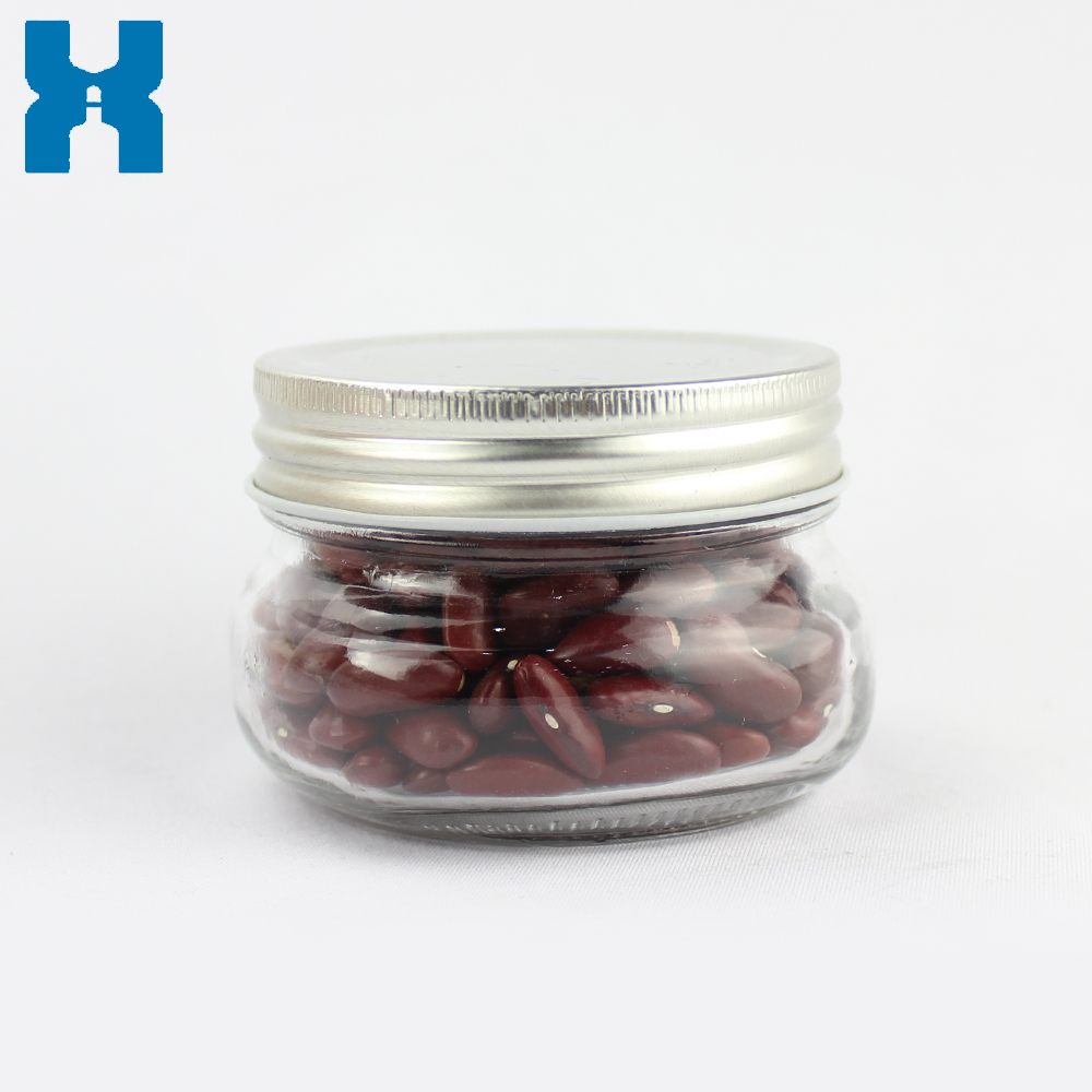 Cream Glass Jar 150ml Wholesale