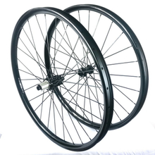 29er mtb carbon wheels 35mm width center lock 6 bolts lock tubeless carbon wheelset