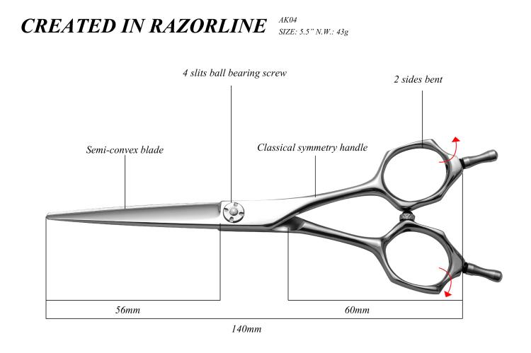 AK04 Japanese hair scissor-01