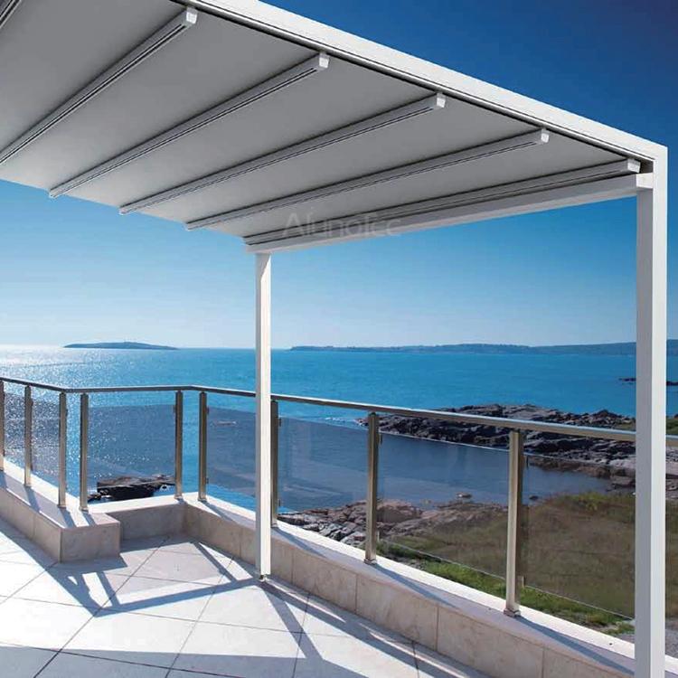 Retractable Canopy Awning Patio Roof   Buy Canopy Awning, Aluminium Pergola  Awning, Freestanding Aluminum Awning Product On AlunoTec