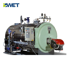 WNS 2.8MW oil gas fired hot water boiler