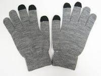 Wholesale Customized Winter Knitted Acrylic Magic Texting Screen Touch Glove