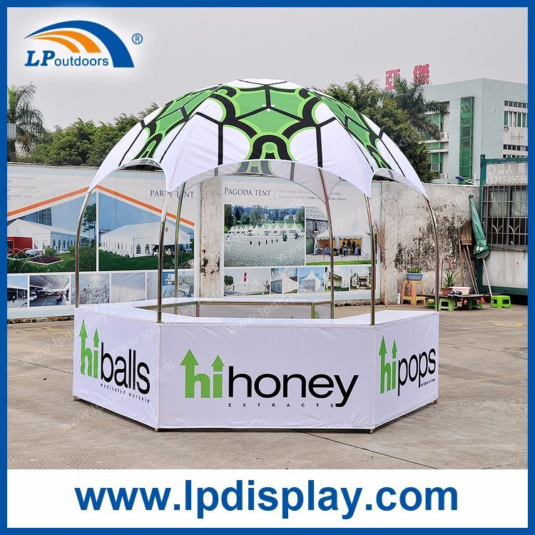 Dia 10ft Hexagonal Dome Tent for Advertising Display