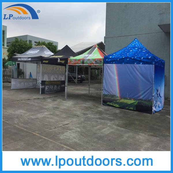 3X3m Hexagon Steel Frame Outdoor Display Canopy Folding Tent