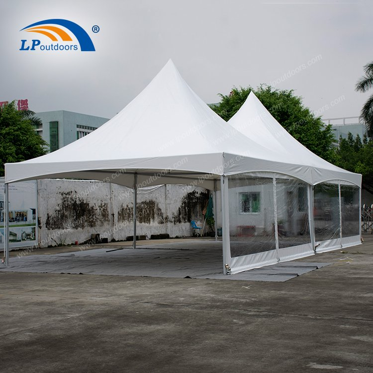6X12 double top frame tent003