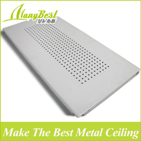 2018 China Popular 300*600 High Quality Decorative Aluminum Clip in Ceiling Tiles