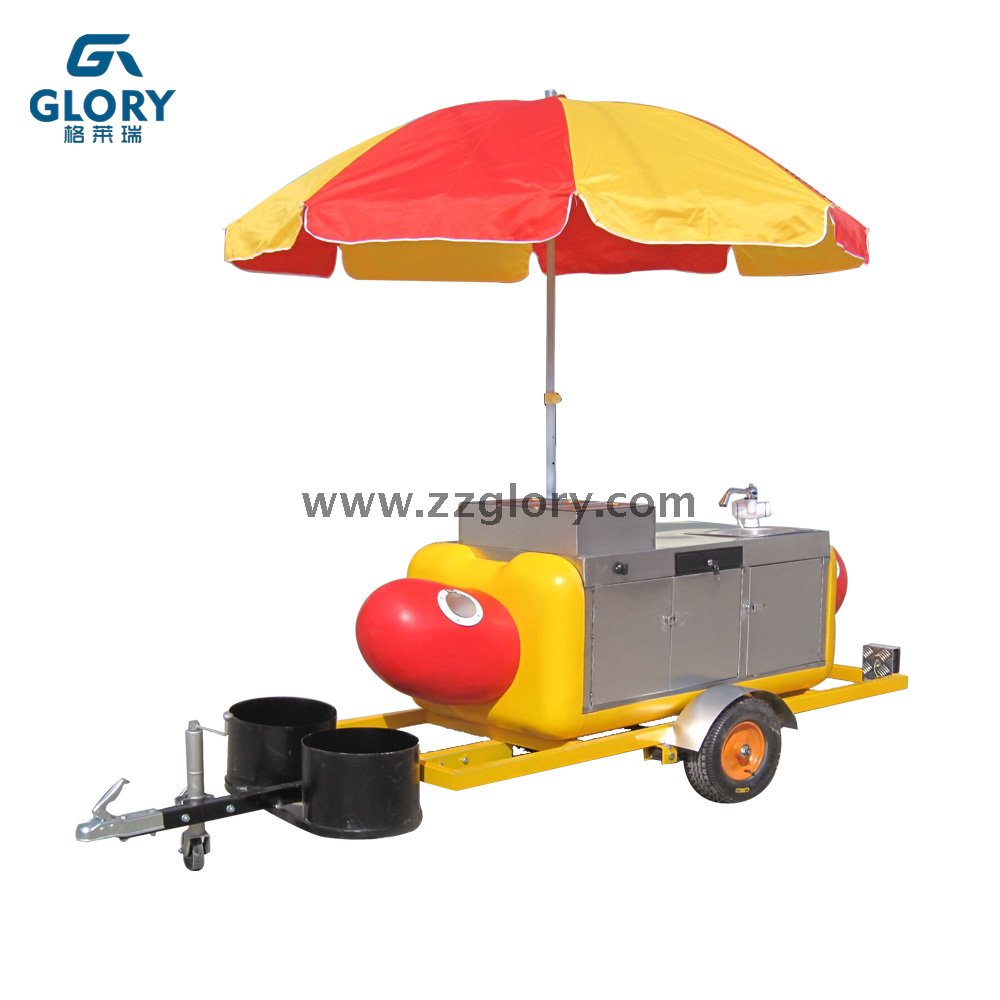 High Quality Mobile Food Carts Hot Dog Carts Food Kitchen Truck for ...