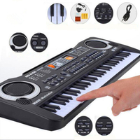 61 key Multi-function kids electronic keyboard with microphone early childhood education toys