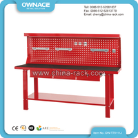 OW-T79111J Knock Down Heavy Duty Workbench with Back Panel