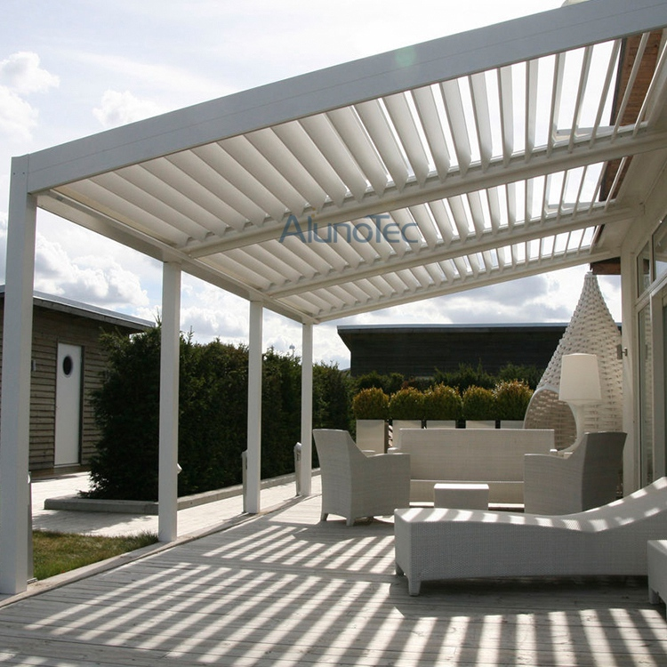 outdoor patio adjustable louver roof pergola buy patio pergola louver roof louver pergola. Black Bedroom Furniture Sets. Home Design Ideas