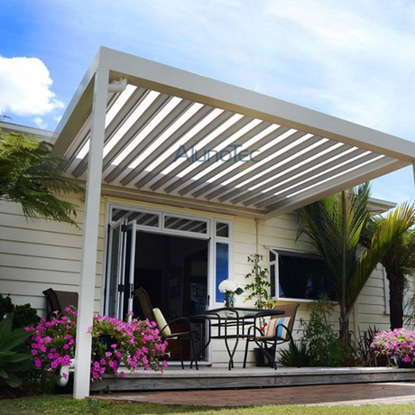 Electric Aluminium Pergola Louvered Patio Cover Systems