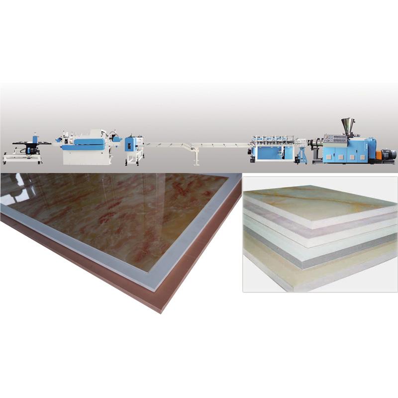 PVC Foam Board Extrusion production line