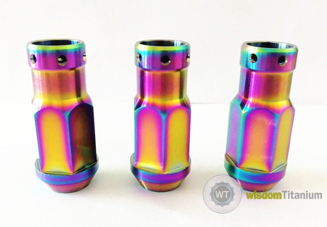 titanium lug nut for custom wheels