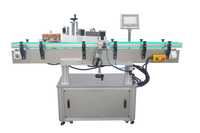 Hot Sale Round Water Bottle Automatic Adhesive Sticker Labeling Machine for plastic bottles
