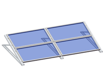 Flat Roof -C Profile Triangle Kit