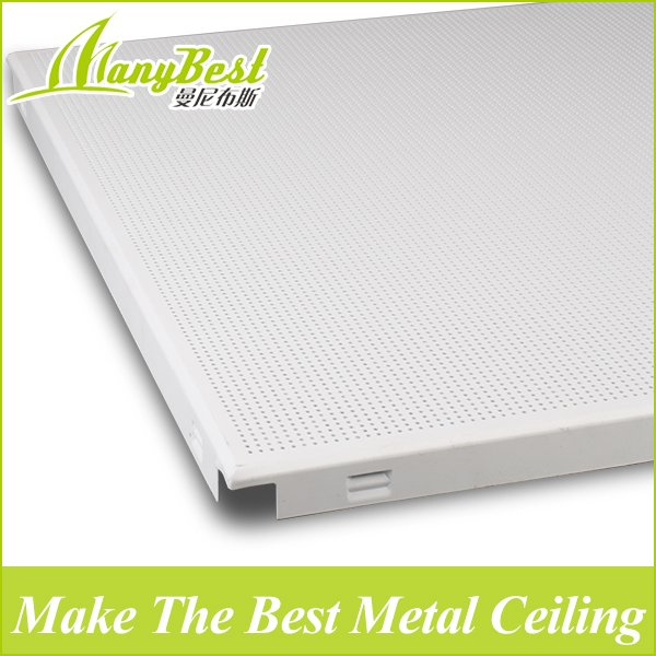 2018 newest 60*60 Clip in Metal Suspended Aluminum Ceiling Tiles