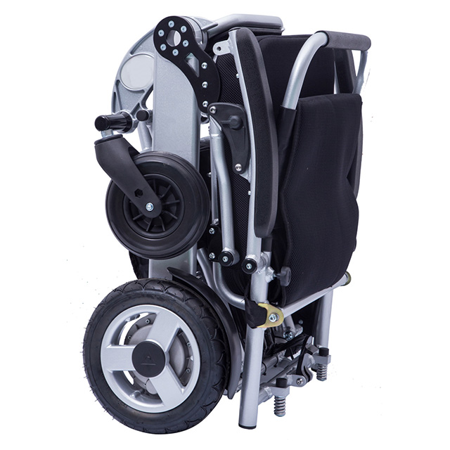 WFT-A08 Automatic Handicapped Foldable Portable Electric Wheelchair