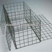 Stone Filled Galvanized Gabion Box Products Made in China