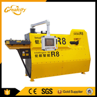 10MM Double Wire Process Automatic CNC Rebar Stirrup Bending Machine