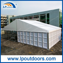 20X50m Outdoor ABS Glass Wall Solid Wedding Tent