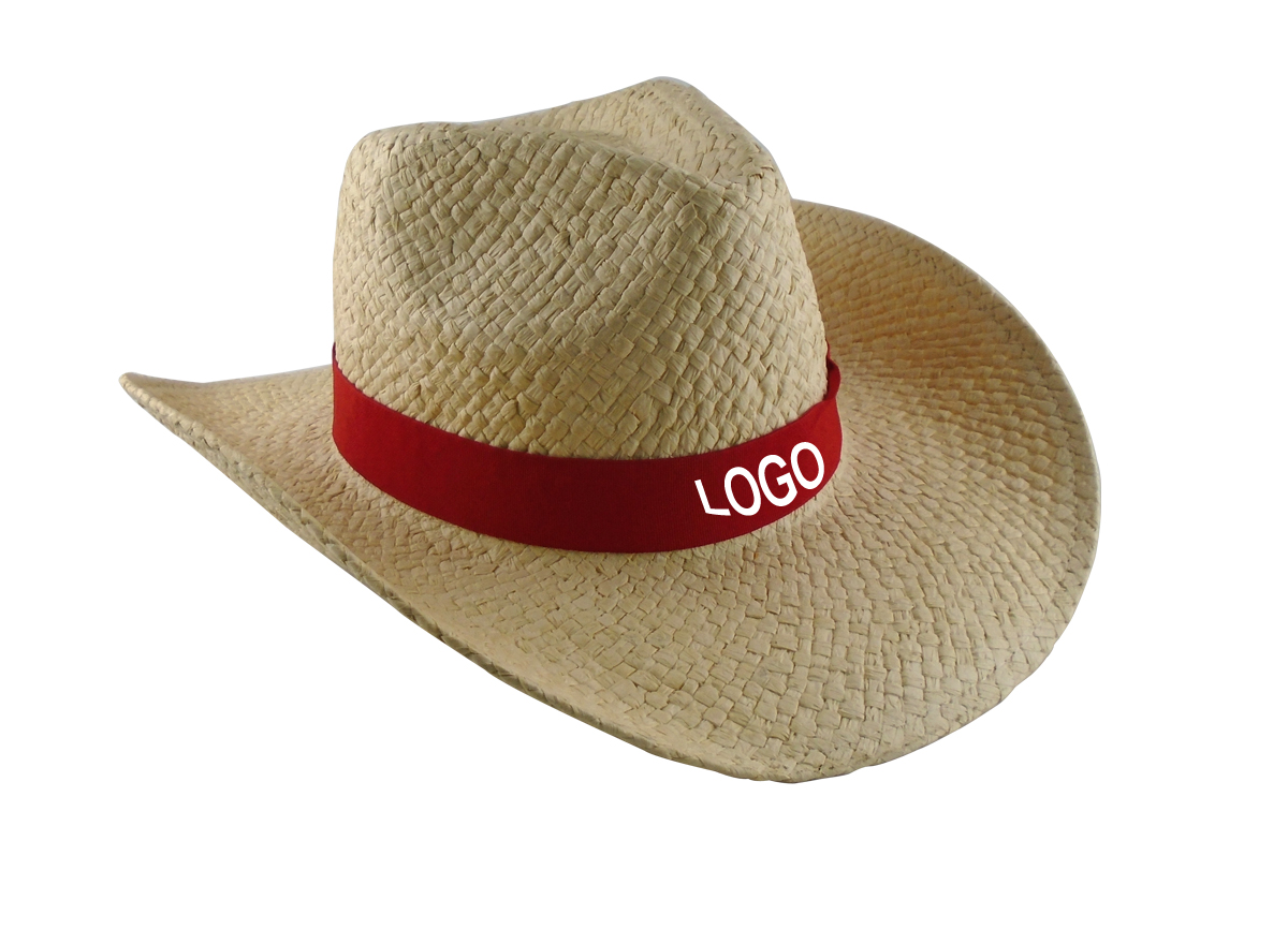d55922479d4 Custom Logo Promotional Straw Cowboy Hat - Buy custom straw hat ...