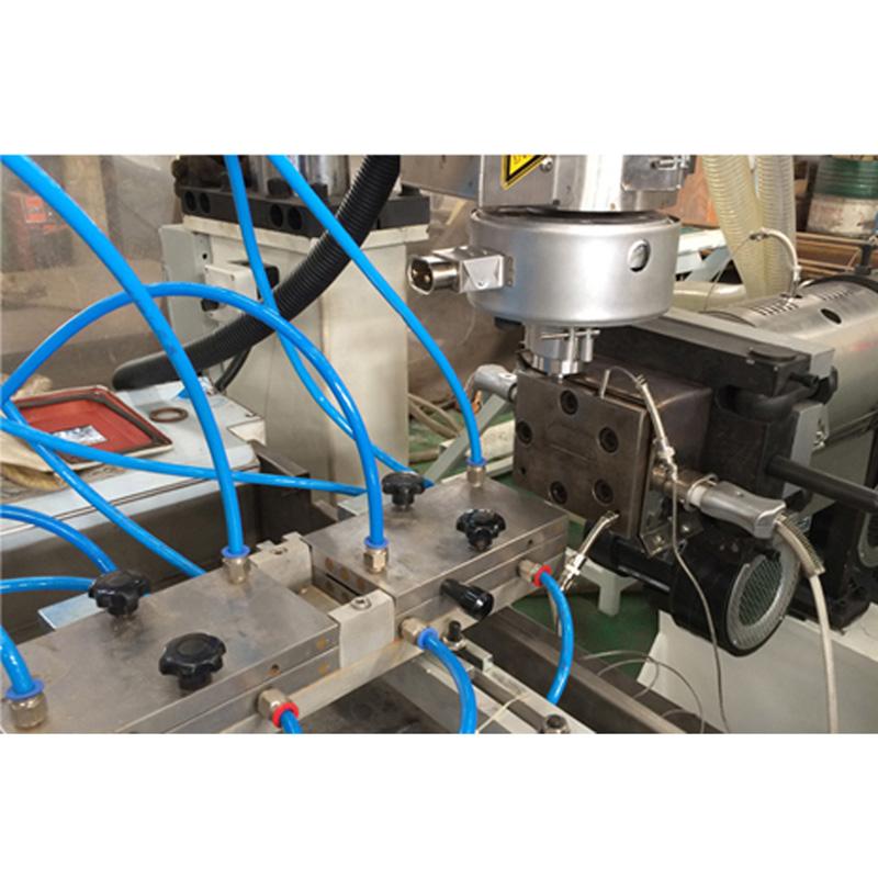 PS profile extrusion plant