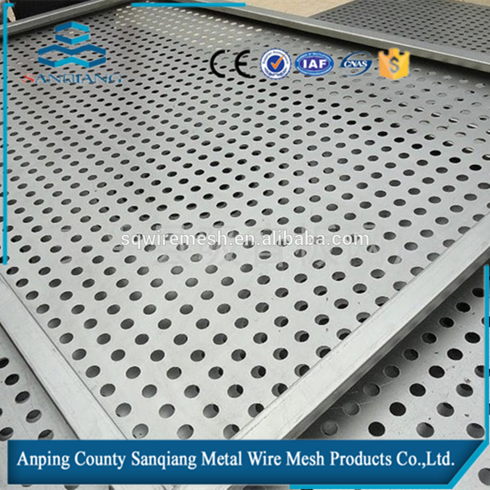 Square/ Round Holes Perforated Metal Mesh/Stainless steel/aluminum ...