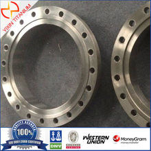 GR2 Titanium Flange As Per ASTM B381 Machined As Per Client Drawing