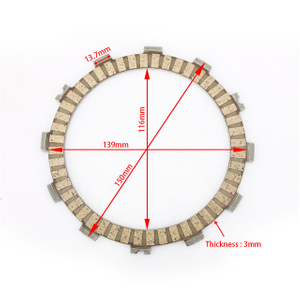 ATV/UTV Paper Based Material Motorcycle Clutch Friction Plate for ZUSUKI