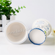 Plastic Disposable Take Away Dessert Paper Cup with Printing