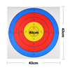 43*43cm Target Sheet Shooting Paper Arrow Target Sheet Or Archery Practice