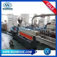Parallel Twin Screw Granulator Extrusion Plastic Pelletizing Machine