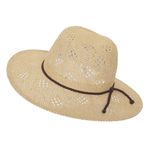 2018 New Design Customized Hand Weaving Pattern Paper Straw Space Dye Hat