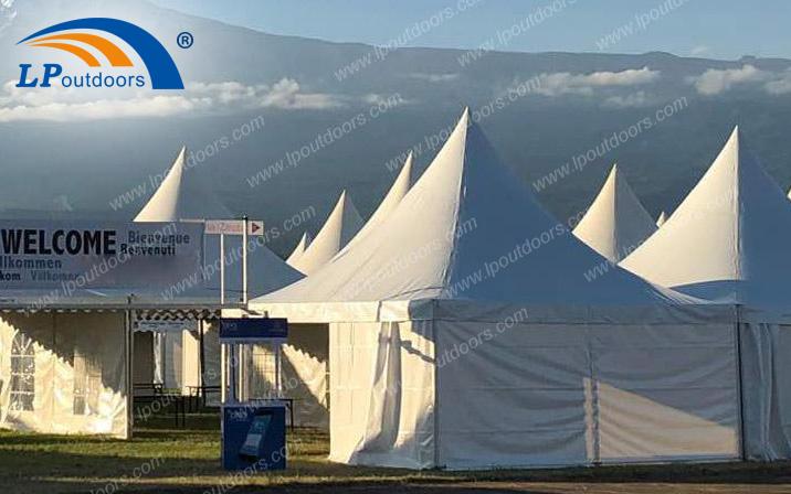 Angel-LP Pagoda tent for big trade show event