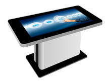Adjustable 43 Inch Interactive Multi Touch Table