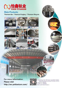 YIXIN TITANIUM----high quality titanium products manufacturer