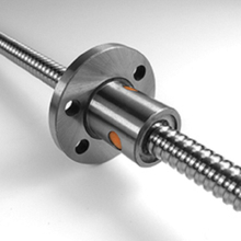Diameter 10mm pitch 3mm left threaded hand ball screw 1003 with flange nut