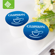 51mm compatible empty pp k cup with filter and lid