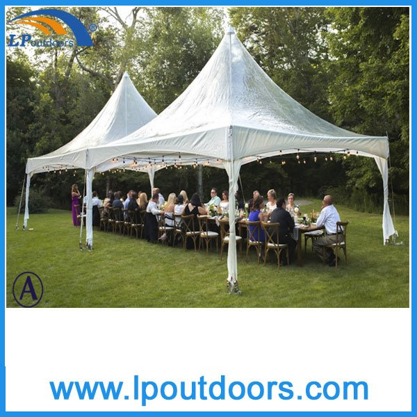 6X6m Outdoor Aluminum Frame Clear Roof Spring Top Tent for Party
