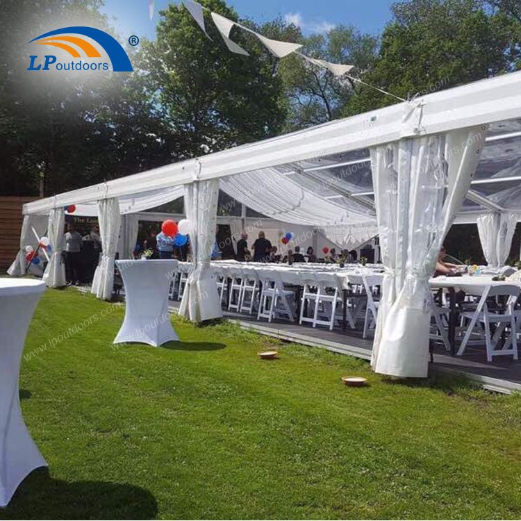 Large Event Tent with Clear Top Banquet Tent Transparent Tent