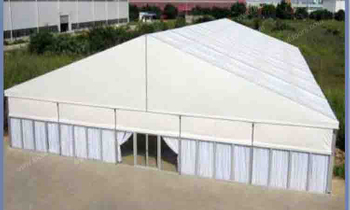 Why the tent installation case is very important?