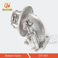 GY-801 stainless steel shut-off valve
