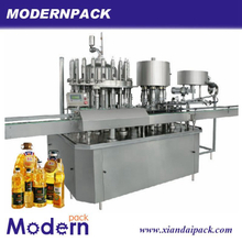 Fully automatic edible oil filling three in one beverage machinery